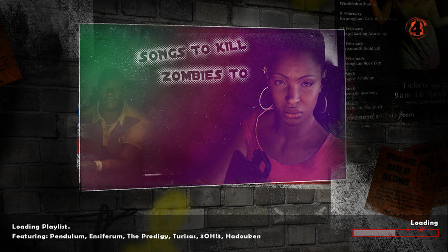 Songs to Kill Zombies to by CazGirl