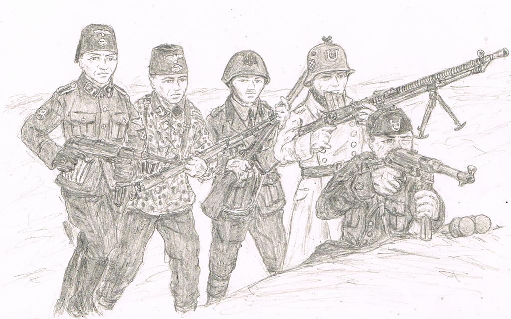 Battle in Yugoslavia: The Axis by CapturedJoe ...
