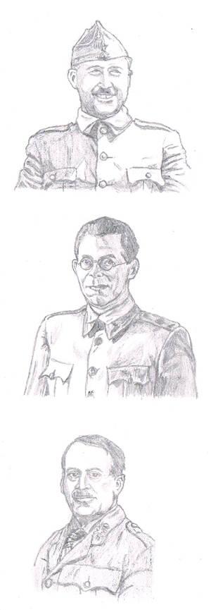 Spanish Civil War generals part 1