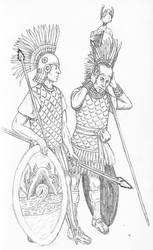 Guards of the Tlachihualtepetl