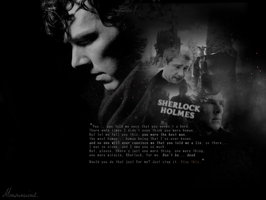 Just for me. | Sherlock by Monsunwind