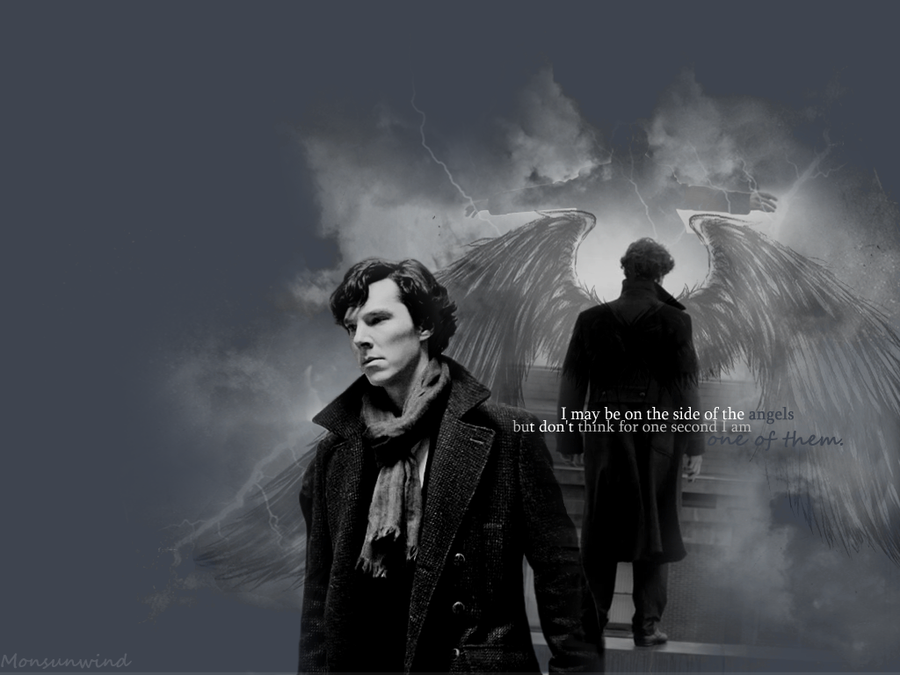 on the side of the angels. | Sherlock by Monsunwind