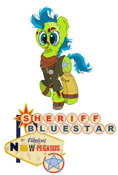 Sheriff Bluestar by Mattmankoga