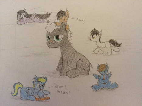 Playtime With Caltrop By Professionalpuppy