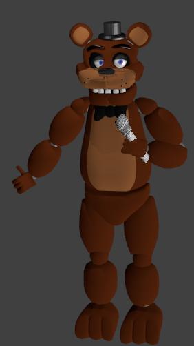 Freddy fazbear blender internal