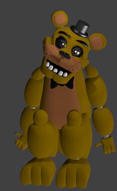 Golden Freddy Model - 0425