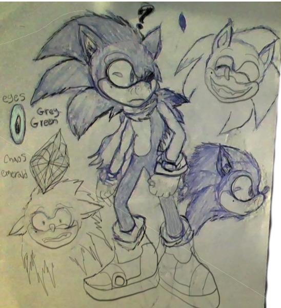 Sonic Boom Re-designed by Giorgiathefox