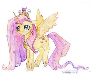 Fluttershy. Alicorn. by FreeSavanna