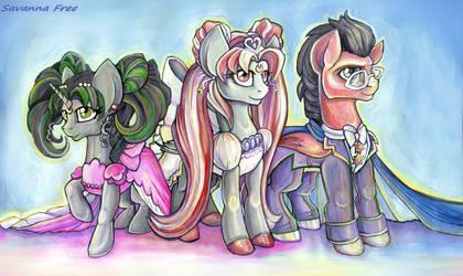 Mlp:fim. Pony Oc. Sailor Moon. by FreeSavanna