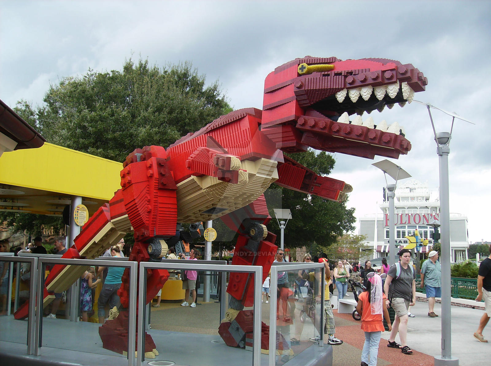 Lego Imagination World 3 TREX by AznFlavrdCandyz