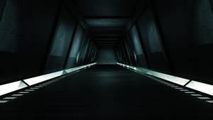 Sci Fi Hallway