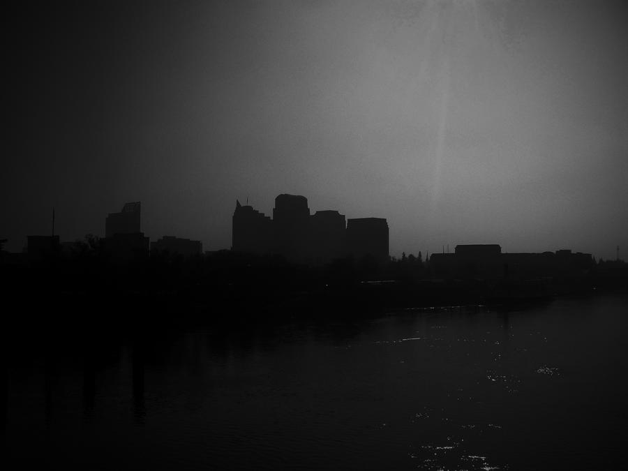 Sacramento Skyline by theworst24