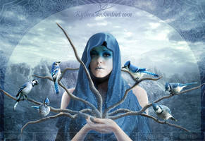 Blue Epiphany by Kythra