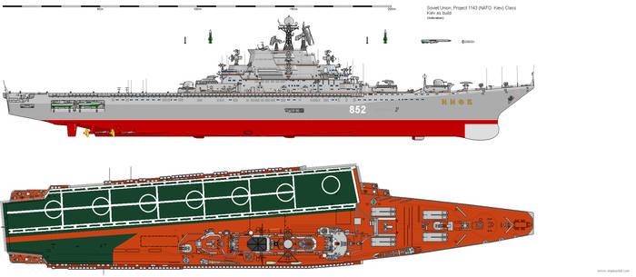 TAVKR Project 1143 Kiev