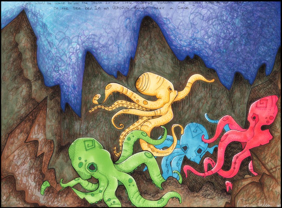 Octopus Garden By Hellocarissa On Deviantart