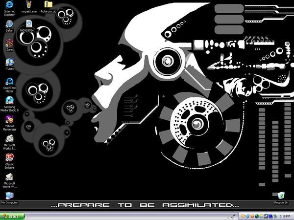 My Current Desktop by XxStars-CollidexX