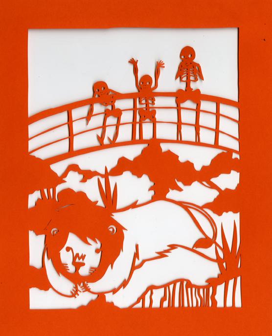 Dia de los Muertos-At the Zoo by Muirgheilt