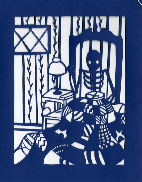 Dia de los Muertos - Quilting by Muirgheilt