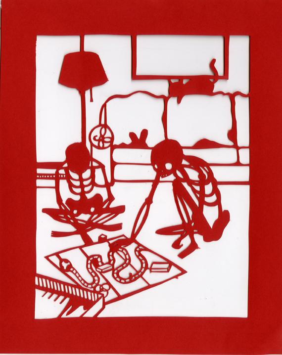 Dia de los Muertos-Board Game by Muirgheilt