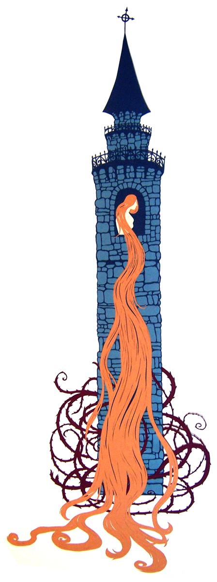 Rapunzel's Tower by Muirgheilt