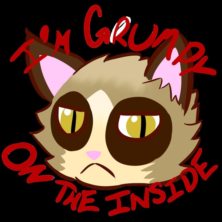 I'm Grumpy on the Inside by Protodramon