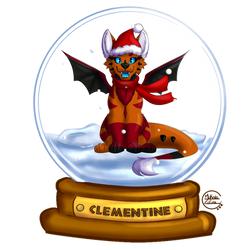 CommissionClementine-YCH Christmas S.