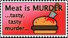 Meat is murder by Joe-zombie