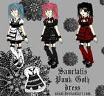 Sanctatis Punk Goth dress