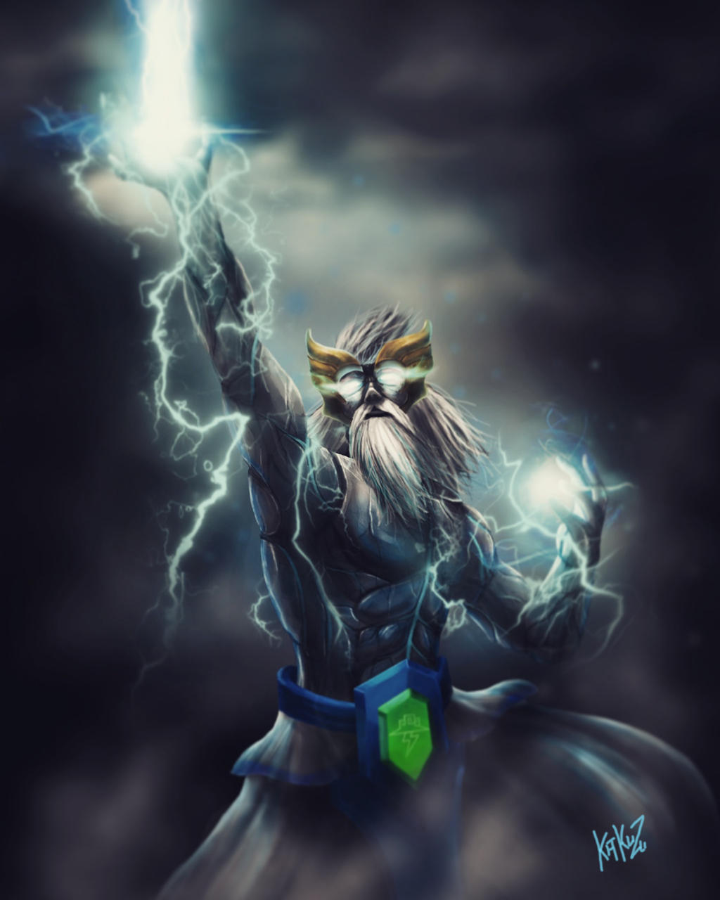 dota 2 zeus arcana by kazu67 on deviantart