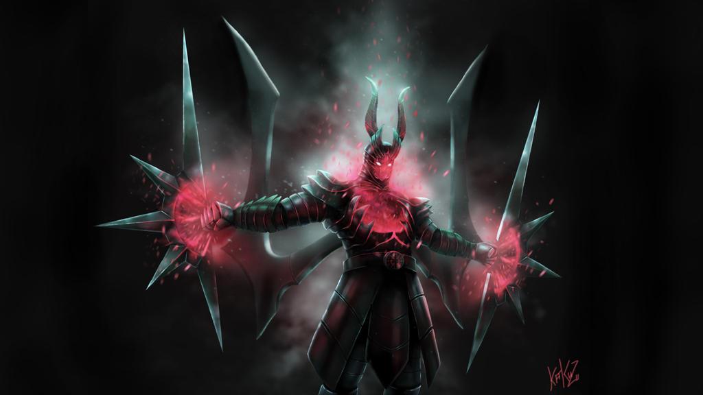 dota 2 terrorblade arcana by kazu67 on deviantart