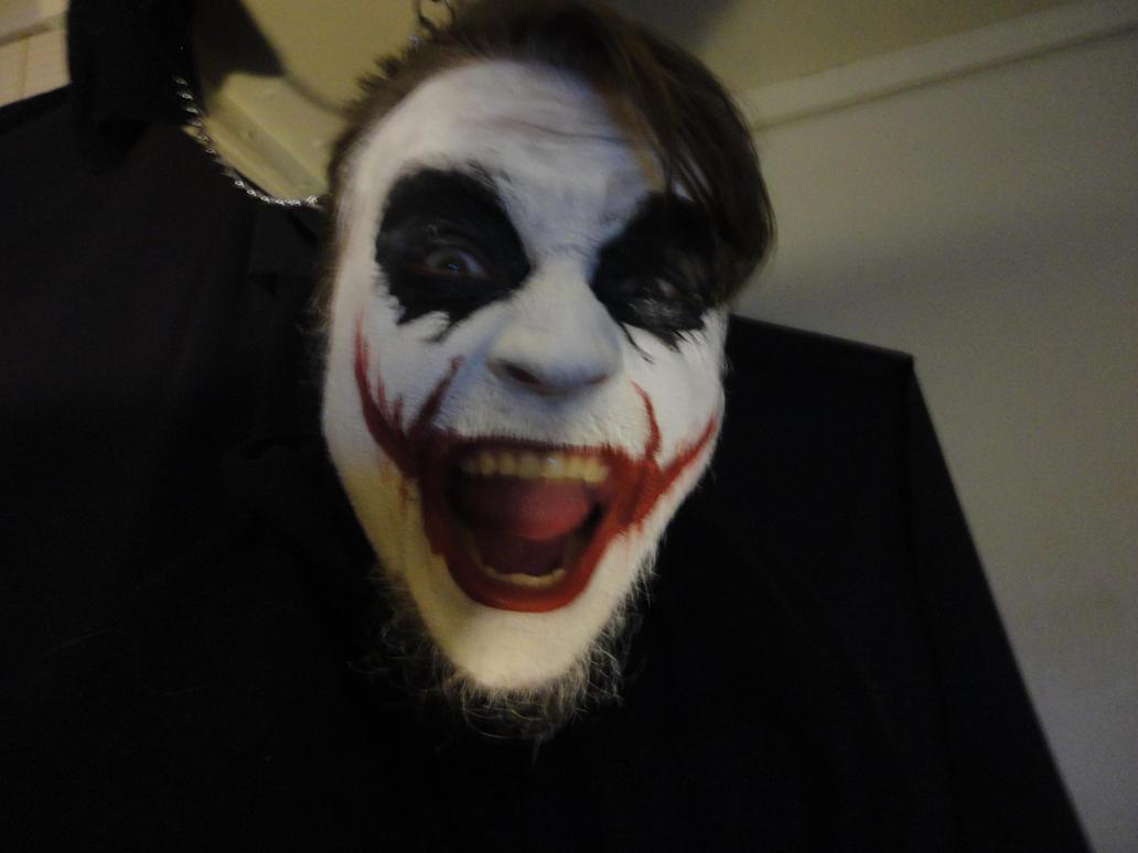 Joker Face Paint Clear