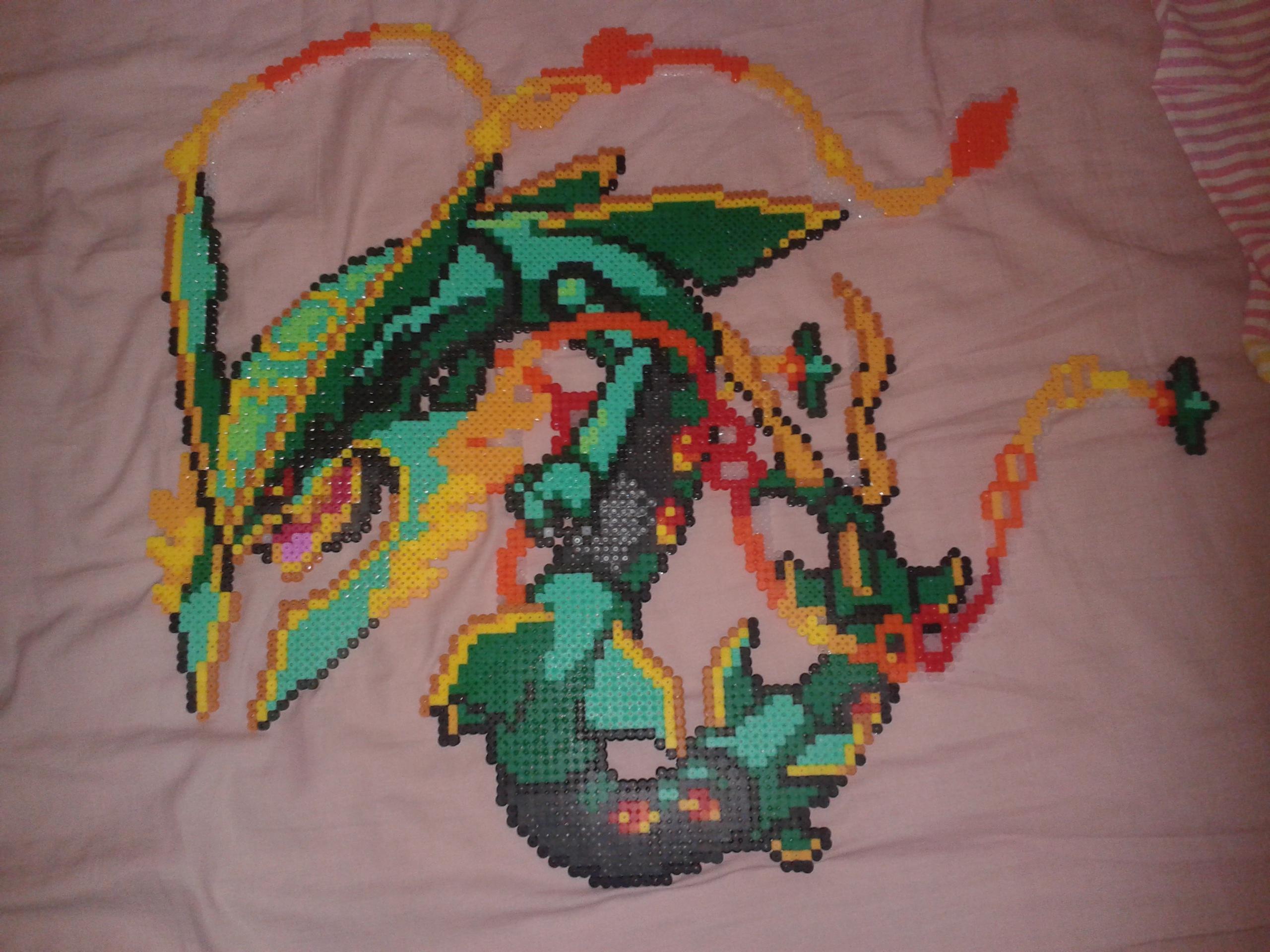 Mega Rayquaza Pixel Art