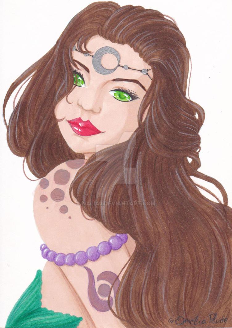 Mermaid - color test version 2 by Nalia3