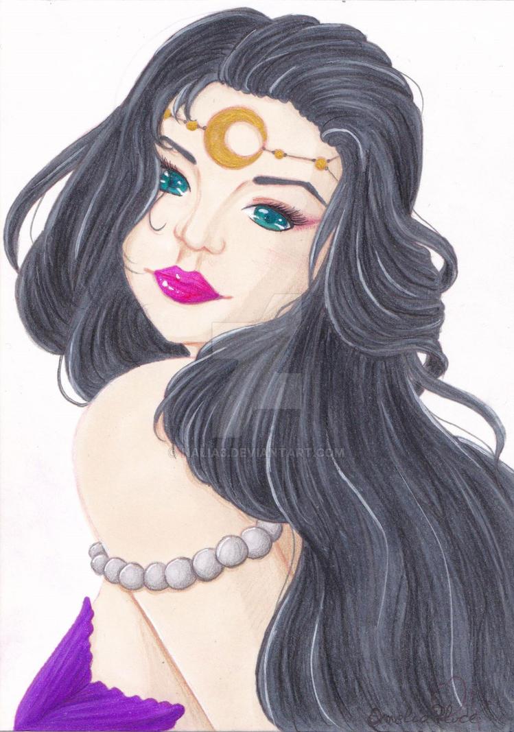 Mermaid1 - color test version 1 by Nalia3