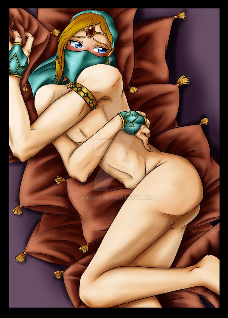 Link sexy gerudo by Nalia3