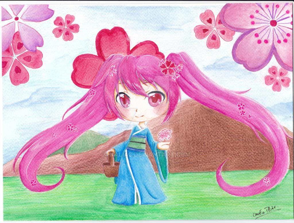 Sakura miku by Nalia3