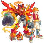 Keita Kusanagi: Megaman Model R-M