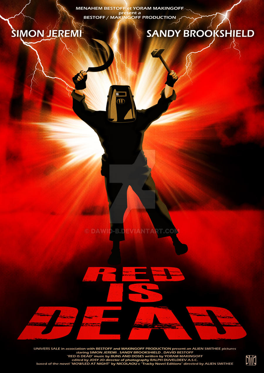 red is dead by dawid b on deviantart. Black Bedroom Furniture Sets. Home Design Ideas