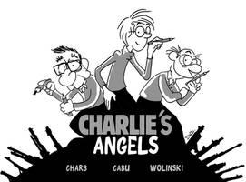 Charlie's angels / Charlie Hebdo by Dawid-B