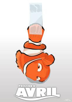 Poisson d'avril : finding Nemo