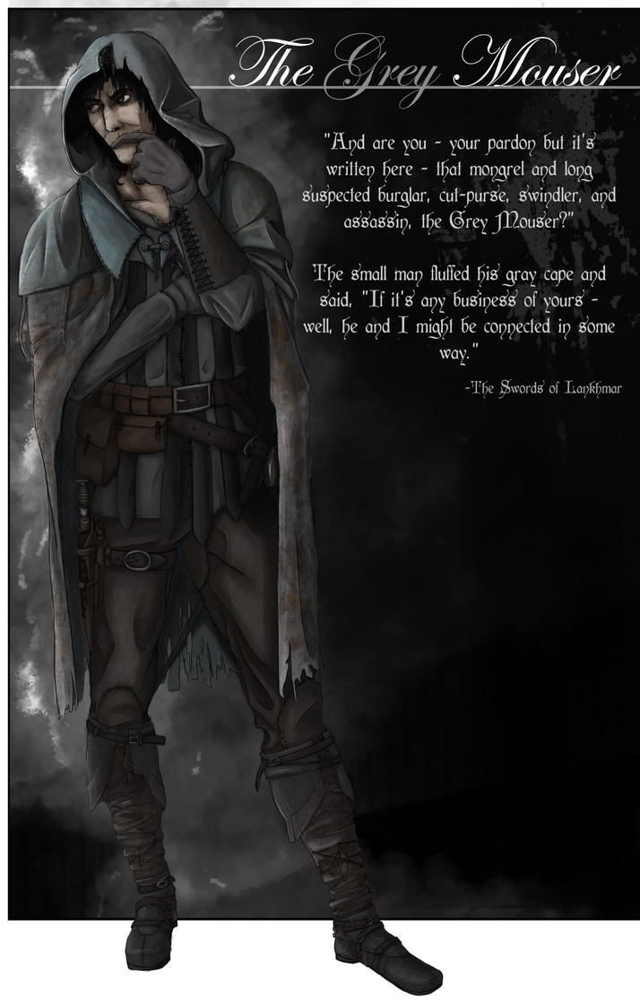 The Grey Mouser by Herebellama