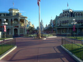 Before the park opens by HappyHaunts999