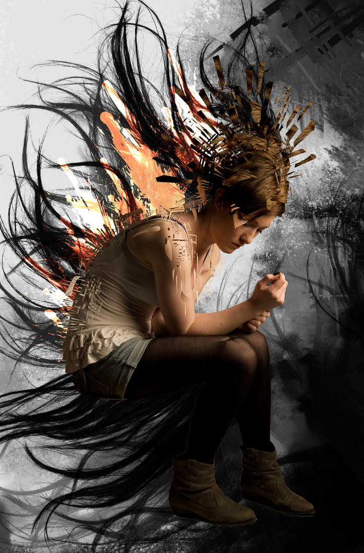 Broken Angel by xAlexisFLloydx