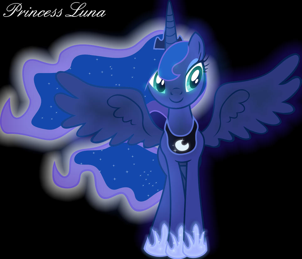 It's Princess Luna! by KartDasher