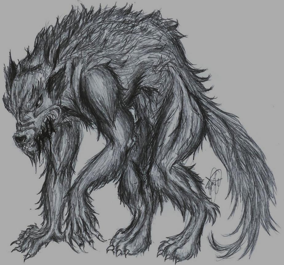 Werewolf by TinyLittleFirefly