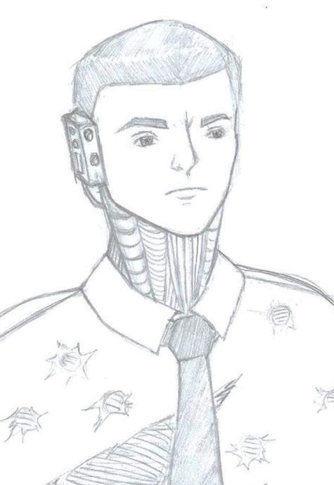Cyborg JFK by TinyLittleFirefly