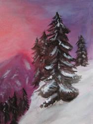 Mountain Oil by Larkynn