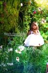 One Child in the garden