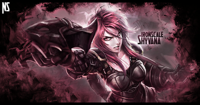 Shyvana -Signature by NiceSlicer