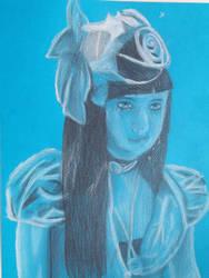 Blue Victorian Lady by Icealchemist886